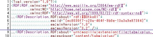 Firefox3.0.1にTab Mix Plusをインストール